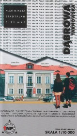 Dąbrowa Tarnowska - plan miasta: informacje turystyczne, centrum miasta, obiekty zabytkowe